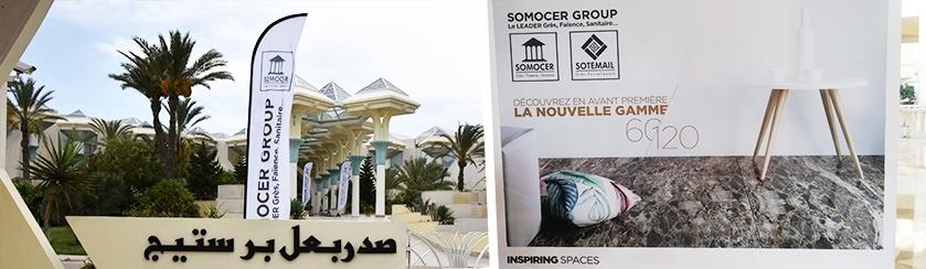 Somocer Group organise le 06 et le 07 septembre des journées professionnelles à l'hôtel Hasdrubal Prestige Djerba