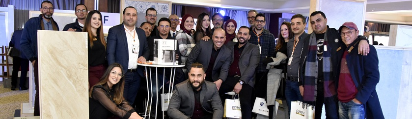 SOMOCER has taken part in the celebration of the 10th Anniversary of the Sfax Regional Chamber of Interior Designers organized on January 14, 2020 at the Concorde Hotel